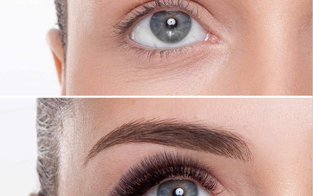 Caring for your eyelash extensions | Tips from Nadia Afanaseva