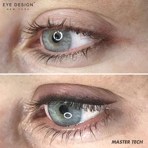 Winged eyeliner is hot for the holidays! Choose permanent makeup for a look that lasts beyond the season.